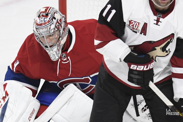 Carey Price a stoppé 27 des 29 tirs... (Photo Bernard Brault, La Presse)