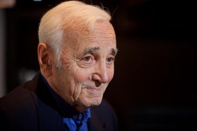Charles Aznavour sera au Centre Bell, ce soir,... (Photo André Pichette, La Presse)