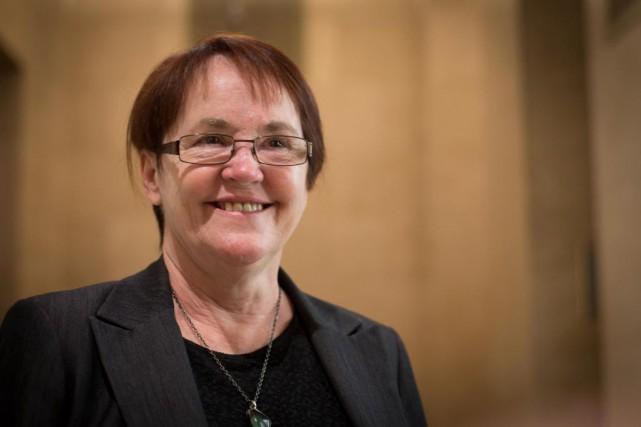 Ruth Gagnon,directrice générale dela Société Elizabeth Fry du... (Photo Olivier Jean, La presse)