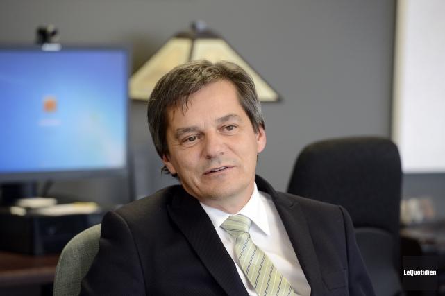 Le recteur de l'Université du Québec à Chicoutimi,... (Archives Le Quotidien, Jeannot Lévesque)