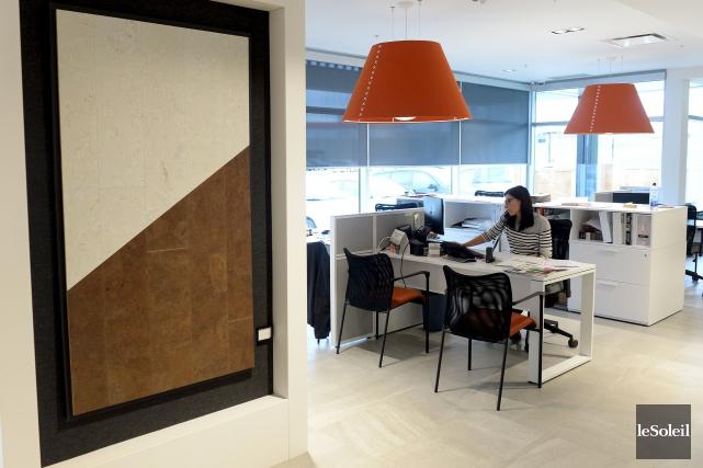 Les rénovations intérieures de Pelletier Déco Surfaces portent... (Le Soleil, Erick Labbé)