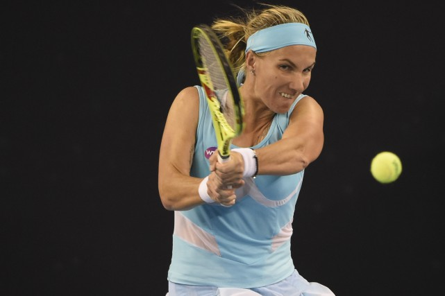 Svetlana Kuznetsova... (Photo Fred Dufour, AFP)