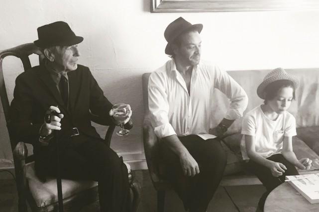 Les Cohen en trois générations : Leonard, Adam... (Sony Music Canada)