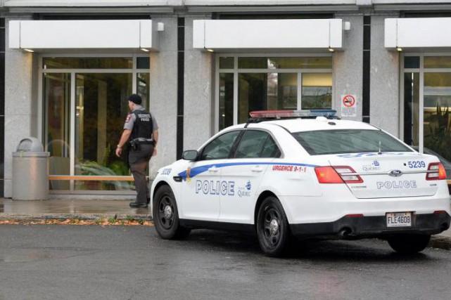 La police enquête sur une série de plaintes... (PHOTO ERICK LABBÉ, LE SOLEIL)
