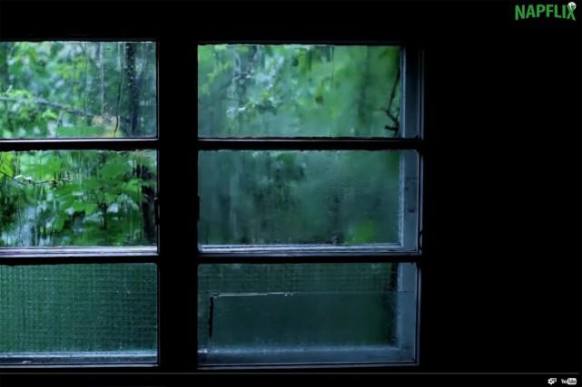 Le bruit de la pluie, une vidéo dans... (CAPTURE D'ÉCRAN)