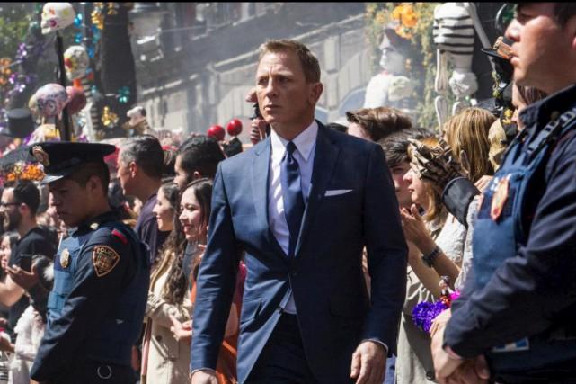 La procession pendant la Fête des morts au... (Fournie par Sony Pictures)
