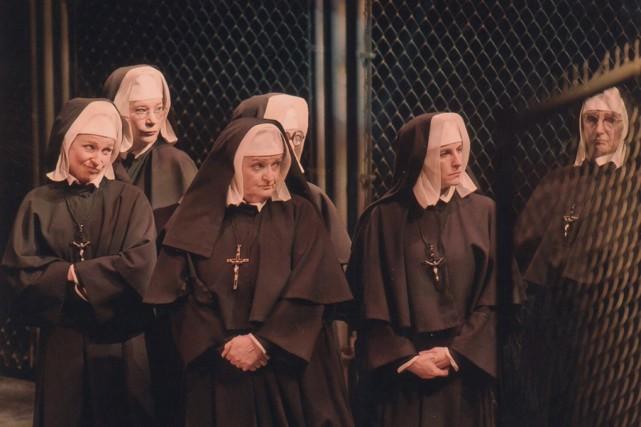 Manon Lussier (deuxième à partir de la gauche)... (Gérard Leduc)