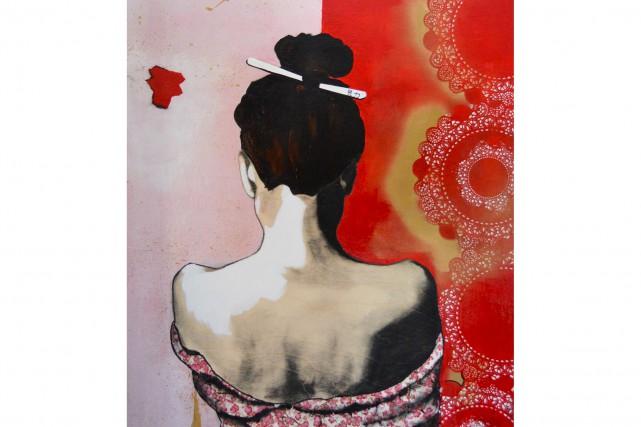 Violently happy, oeuvre de Pascale Beaulieu... (pascalebeaulieu.com)