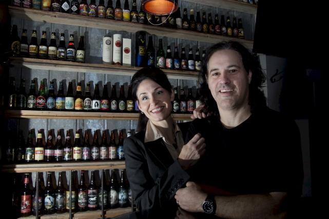 Les propriétaires, Isabelle Dupuis et Francis Boisvert.... (Sylvain Mayer)