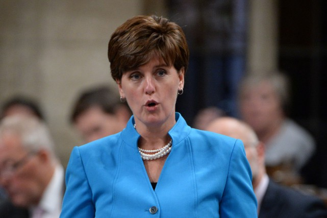 Marie-Claude Bibeau, la ministre canadienne du Développement international... (PHOTO Sean Kilpatrick, PC)