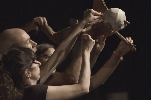 Réunies à Chicoutimi, deux compagnies de théâtre, québécoise et mexicaine,... (Photo courtoisie)