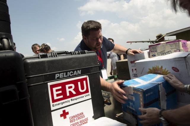 L'infirmier Patrick Raymond compte plusieurs missions humanitaires à... (Fournie)