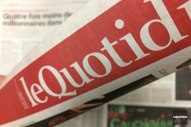 Jamais le slogan promotionnel n'aura été aussi vrai: Le Quotidien et... (Photo Le Quotidien)