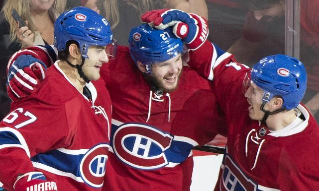 Selon Alex Galchenyuk, le Canadien sait qu'il doit... (La Presse canadienne)