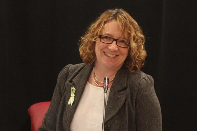 La conseillère municipale et présidente du RÉMI, Sylvie... (Archives, LeDroit)