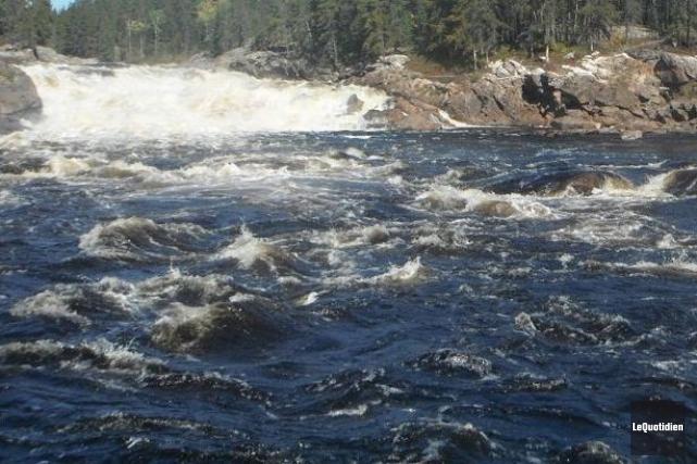 La 11e Chute de la rivière Mistassini.... (Archives Le Quotidien)