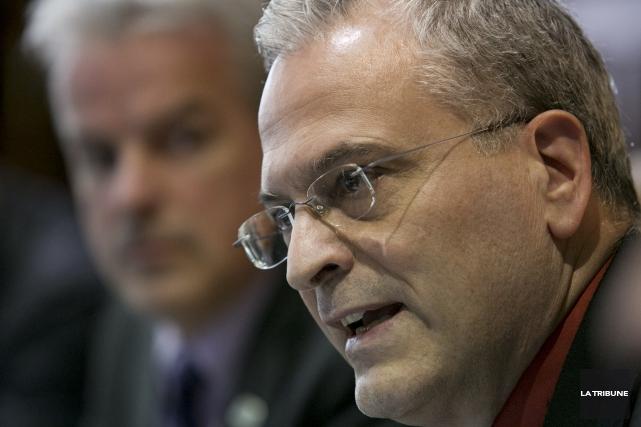 Le directeur général de la Ville de Sherbrooke,... (Archives La Tribune, René Marquis)