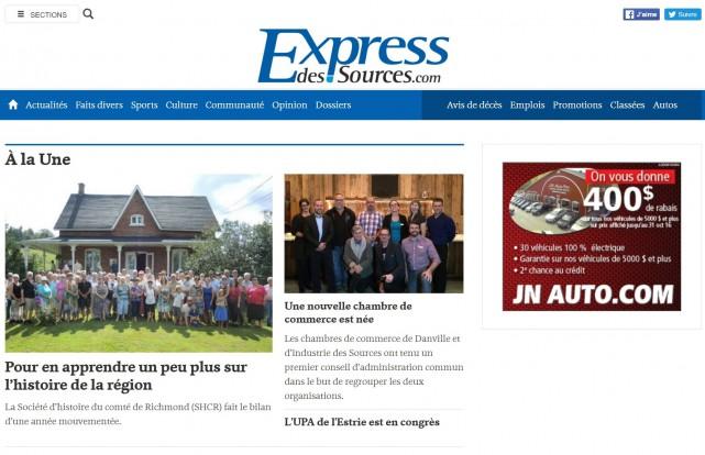 Le journal L'Étincelle, publiée à Windsor, a fait...
