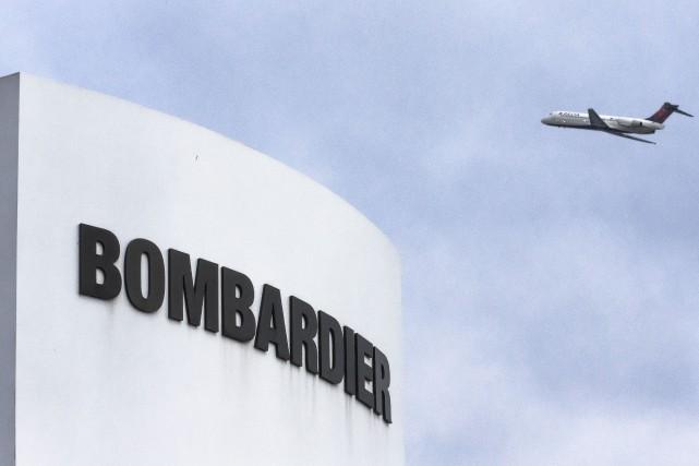 Bombardier estime pouvoir atténuer l'effet de sa restructuration... (Archives La Presse, Olivier Pontbriand)
