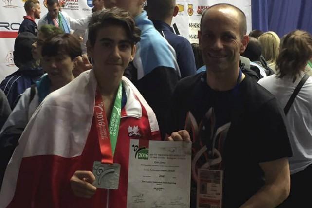 Lucas Bellemare-Paquin a terminé deuxième à la Coupe... (Courtoisie)