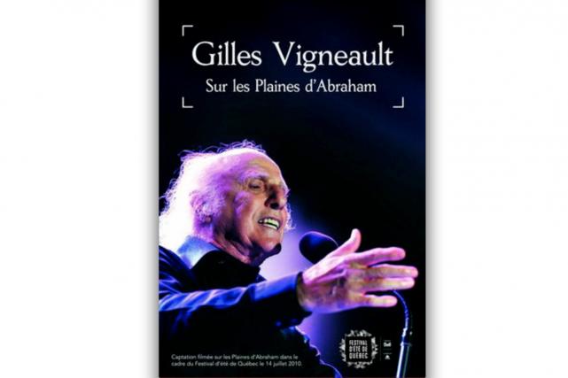 GillesVigneault sur les plaines d'Abraham GillesVigneault...