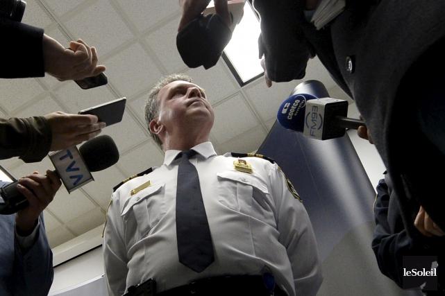 Selon Mario Vézina, responsable des crimes majeurs au... (Le Soleil, Yan Doublet)