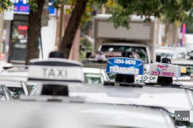 Un porte-parole du Front commun du taxi estime... (Photo Marco Campanozzi, archives La Presse)