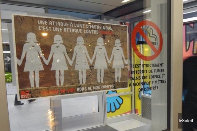 Les mesures de sécurité ont été renforcées au... (Le Soleil, Jean-Marie Villeneuve)
