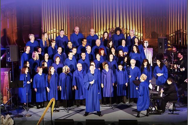 Le Choeur Expérience Gospel... (Photo courtoisie)