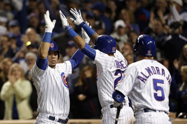 Malgré toutes les malédictions, les Cubs de Chicago retournent finalement en... (Photo USA Today Sports)