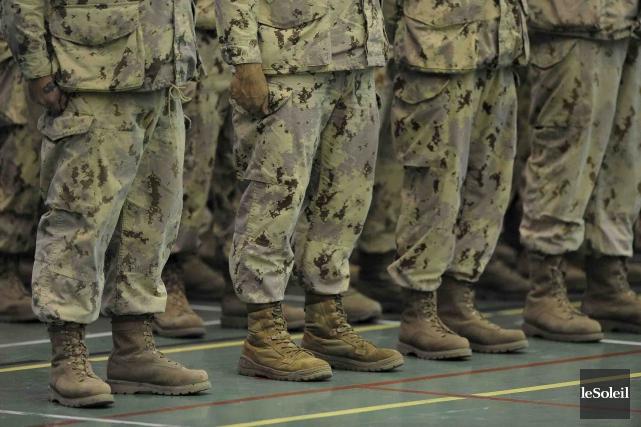 Plusieurs de ces vétérans présentent des problèmes de... (Photothèque Le Soleil, Patrice Laroche)