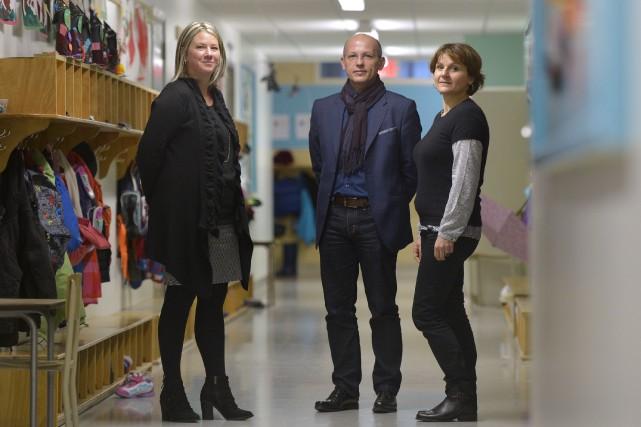 Des directeurs d'école de France vont jusqu'à traverser... (Le Soleil, Yan Doublet)