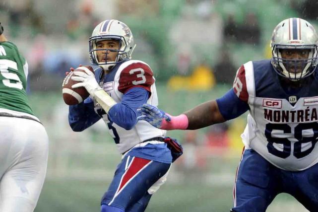 Vernon Adams a savouré la victoire dès son... (La Presse canadienne, Mark Taylor)