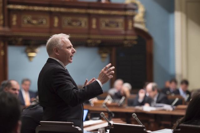 M. Lisée a relaté qu'une ancienne attachée politique... (THE CANADIAN PRESS)