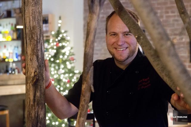Le chef Jason Kacprzak se voit obligé de... (Archives La Tribune, René Marquis)