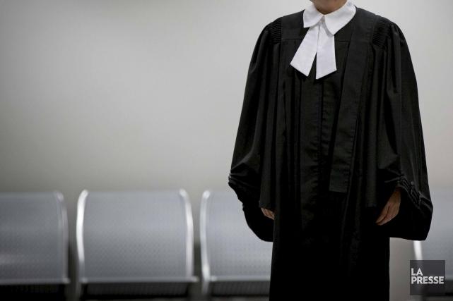 À Québec, des avocats et notaires manifesteront vêtus... (La Presse, Olivier Jean)