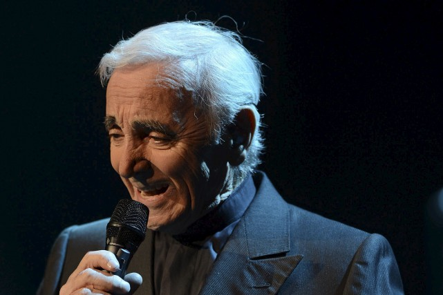 Charles Aznavour... (Photothèque Le Soleil, Patrice Laroche)