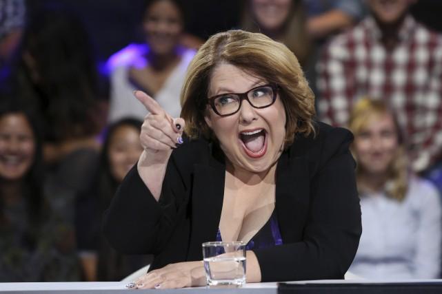 Chaque fois qu'Anne-France Goldwater s'est mêlée du débat... (Fournie par ICI Radio-Canada Télé)