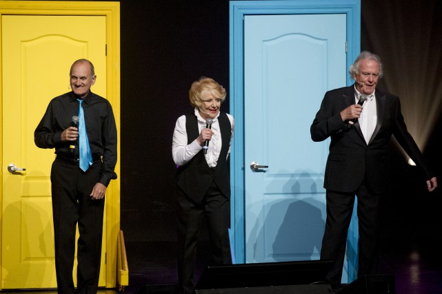 Joël Denis, Shirley Theroux et Pierre Marcotte ont... (Martin Roy, LeDroit)