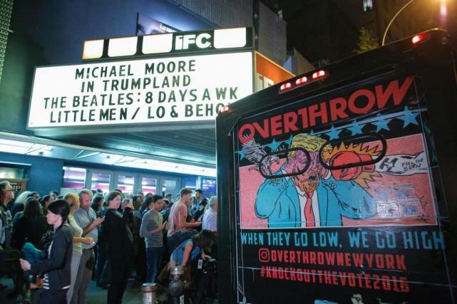 Michael Moore in Trumplandest à l'affiche dans quelques... (ARCHIVES AFP)