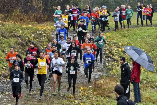 Plus de 700 étudiants ont participé au championnat... (François Gervais)