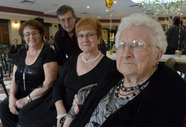 Yvonne Delorme-Martel a célébré ses 107 ans entourée... (Spectre média, Maxime Picard)