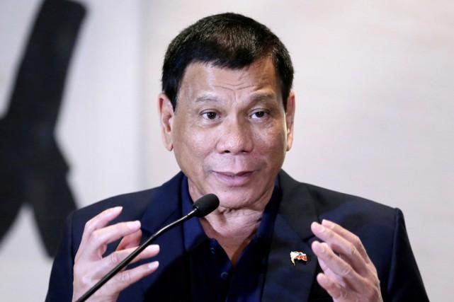 Rodrigo Duterte a plusieurs fois exprimé sa colère... (photo Jason Lee, archives REUTERS)