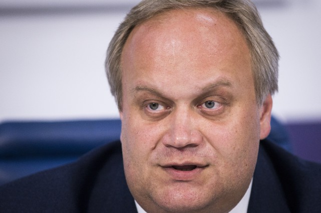 Yuri Nagornykh, sous-ministre russe des Sports.... (Photo Alexander Zemlianichenko, archives AP)
