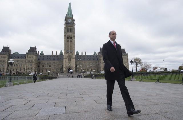 Steven Blaney, un ancien ministre de la Sécurité... (La Presse Canadienne, Adrian Wyld)