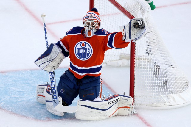 Cam Talbot... (Photo Trevor Hagan, PC)