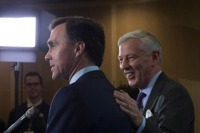 Le ministre des Finances Bill Morneau et le... (PHOTO ADRIAN WYLD, LA PRESSE CANADIENNE)