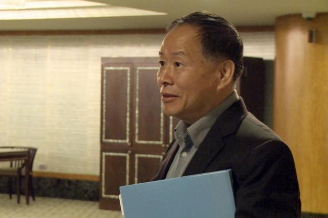 Côté nord-coréen se trouvait le ministre adjoint des... (Photo archives AFP)