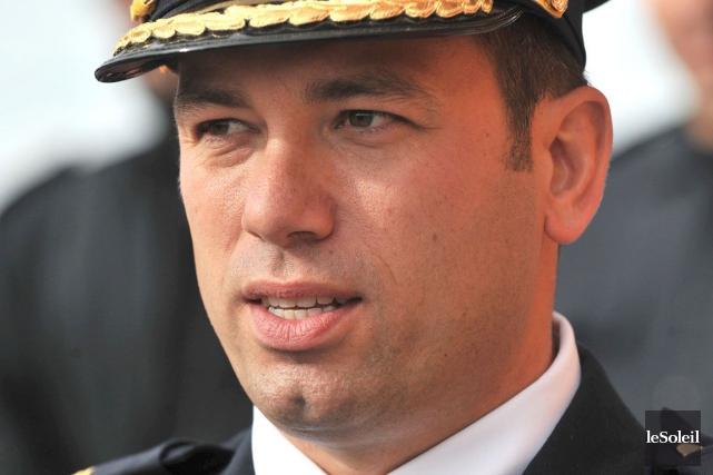 L'ex-chef de police de Wendake, Éric Gros-Louis, est... (Le Soleil, Patrice Laroche)