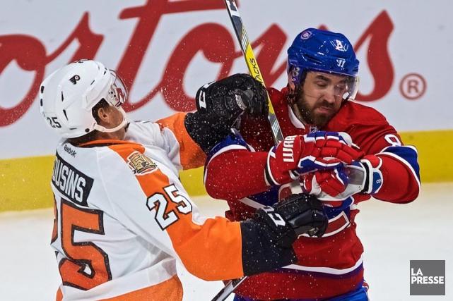 Relisez le clavardage du match entre le Canadien et les Flyers de Philadelphie... (PHOTO ANDRÉ PICHETTE, LA PRESSE)